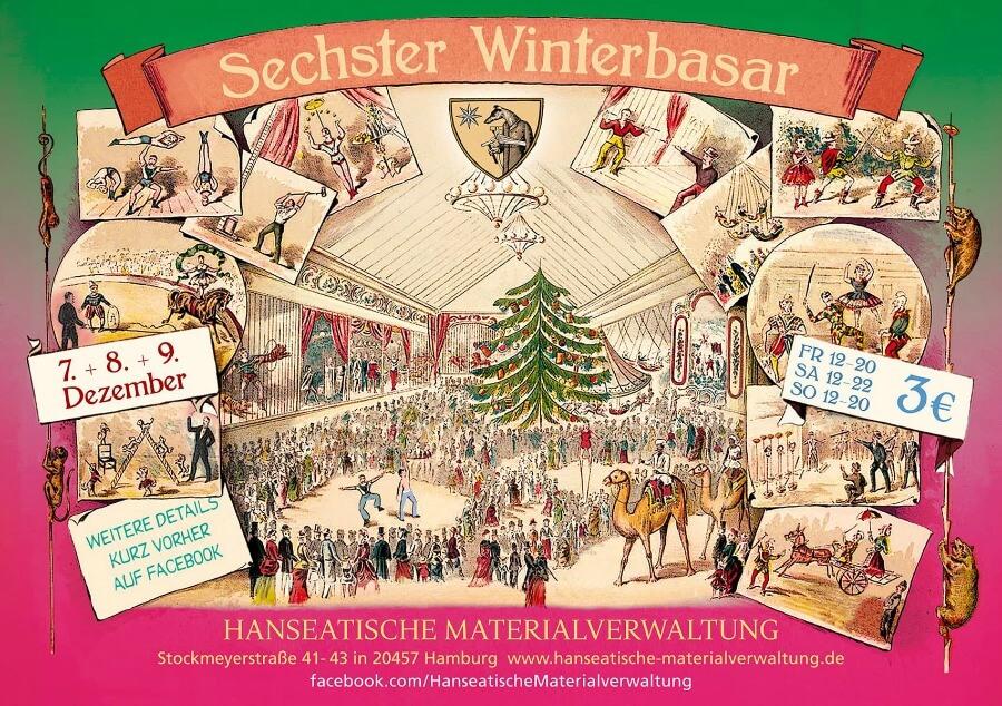 Bijzondere kerstmarkten in Hamburg: bezoek de Winterbasar