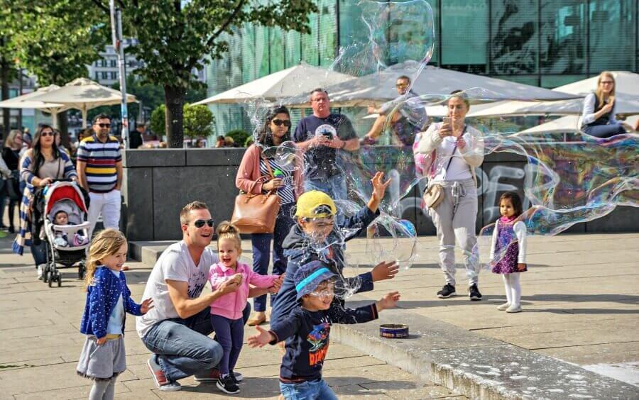 Maak een stedentrip Hamburg met kinderen