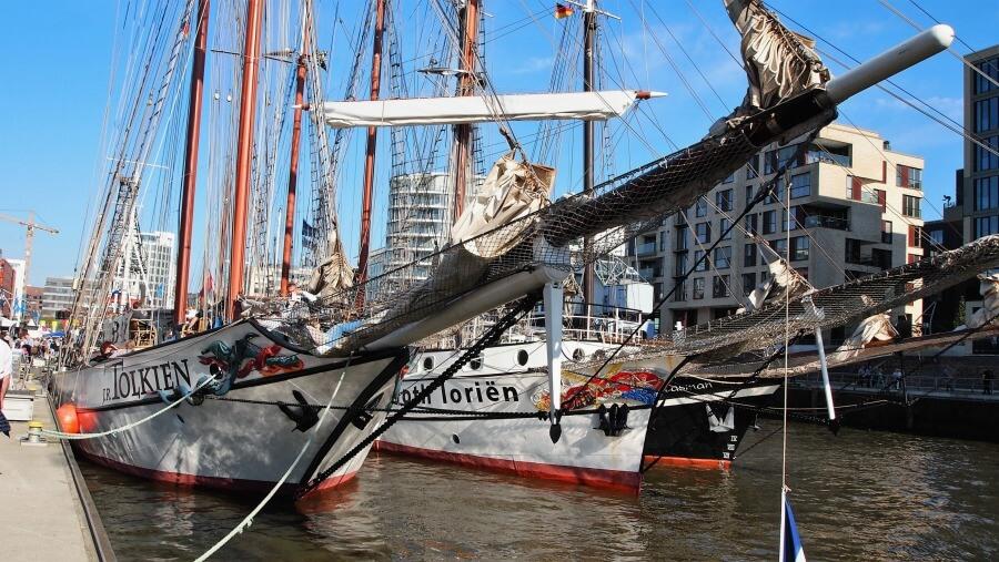 Maritieme highlights van Hamburg in mei: heel veel Hafengeburtstag