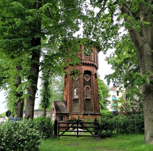 Wasserturm Theodorhof 41 in Bahrenfeld
