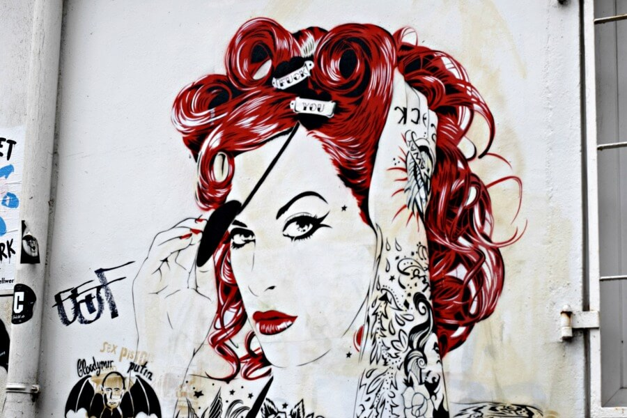 De mooiste street art in Hamburg