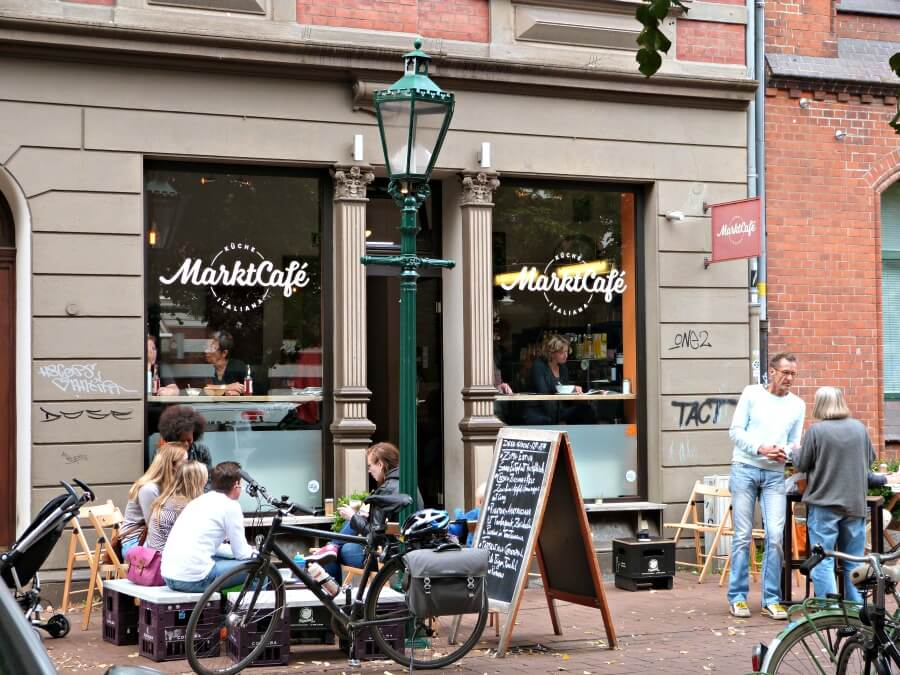 Originele tips Hannover: eten bij Marktcafé