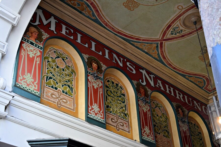 Jugendstil in Hamburg: Mellin-Passage