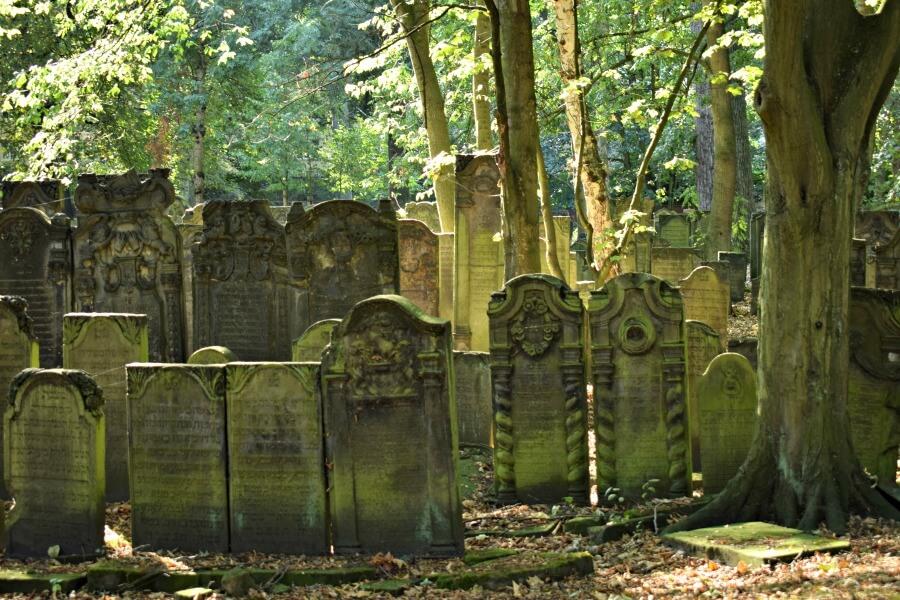Asjkenazische grafstenen in Altona