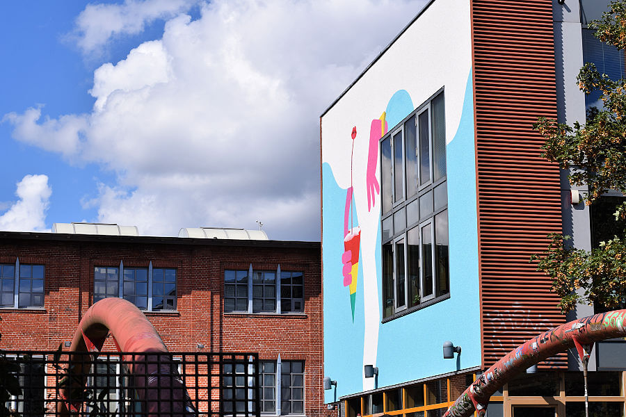 Street art in het Karoviertel | Standort Hamburg
