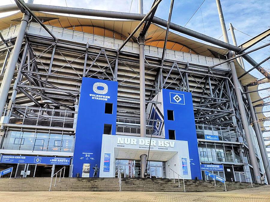 Rondleiding in het HSV-stadion