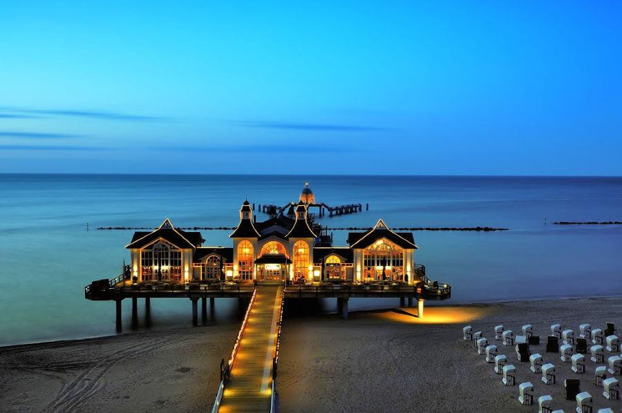 Silvester aan de Duitse kust