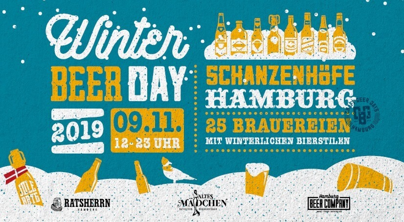 Novembertip voor Hamburg: Winter Beer Day