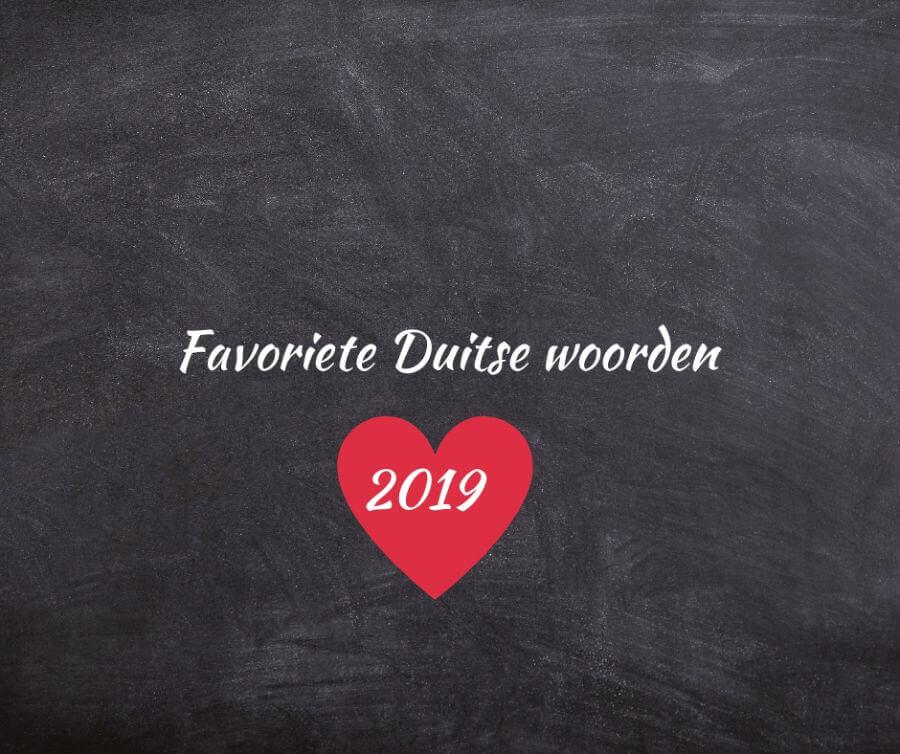 De mooiste Duitse woorden, onze favorieten van 2019