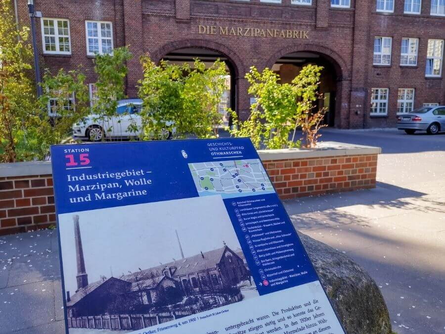 Geschichtspfad Othmarschen: Marsepeinfabriek Hamburg