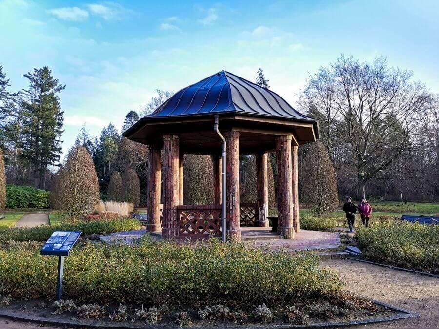 Paviljoen in de Schulgarten