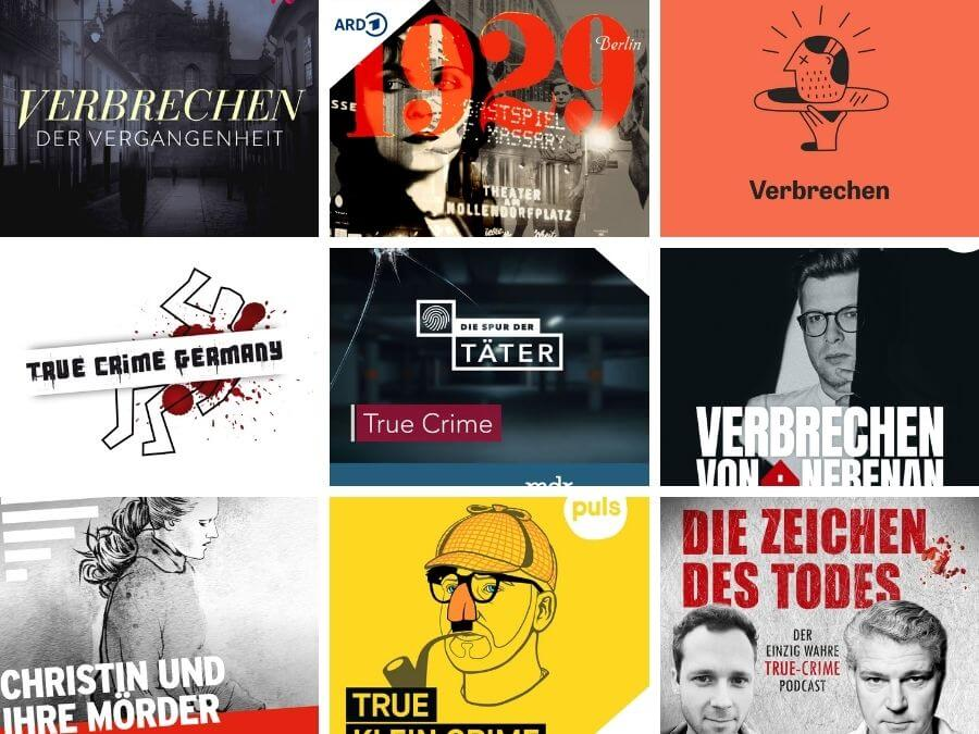 De spannendste Duitse true crime podcasts: tips