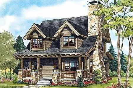Log And Stone House Plans Amazing House Plans