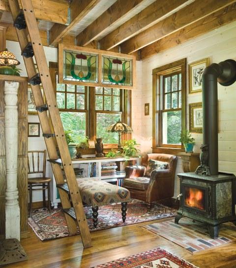 Tiny House Designs A Fairy Tale Log Cabin