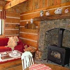 Small Log Cabins Big Stone Hearths
