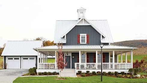 Small Cottage House PlansFarm Style Features