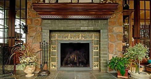 standout fireplace tile arts