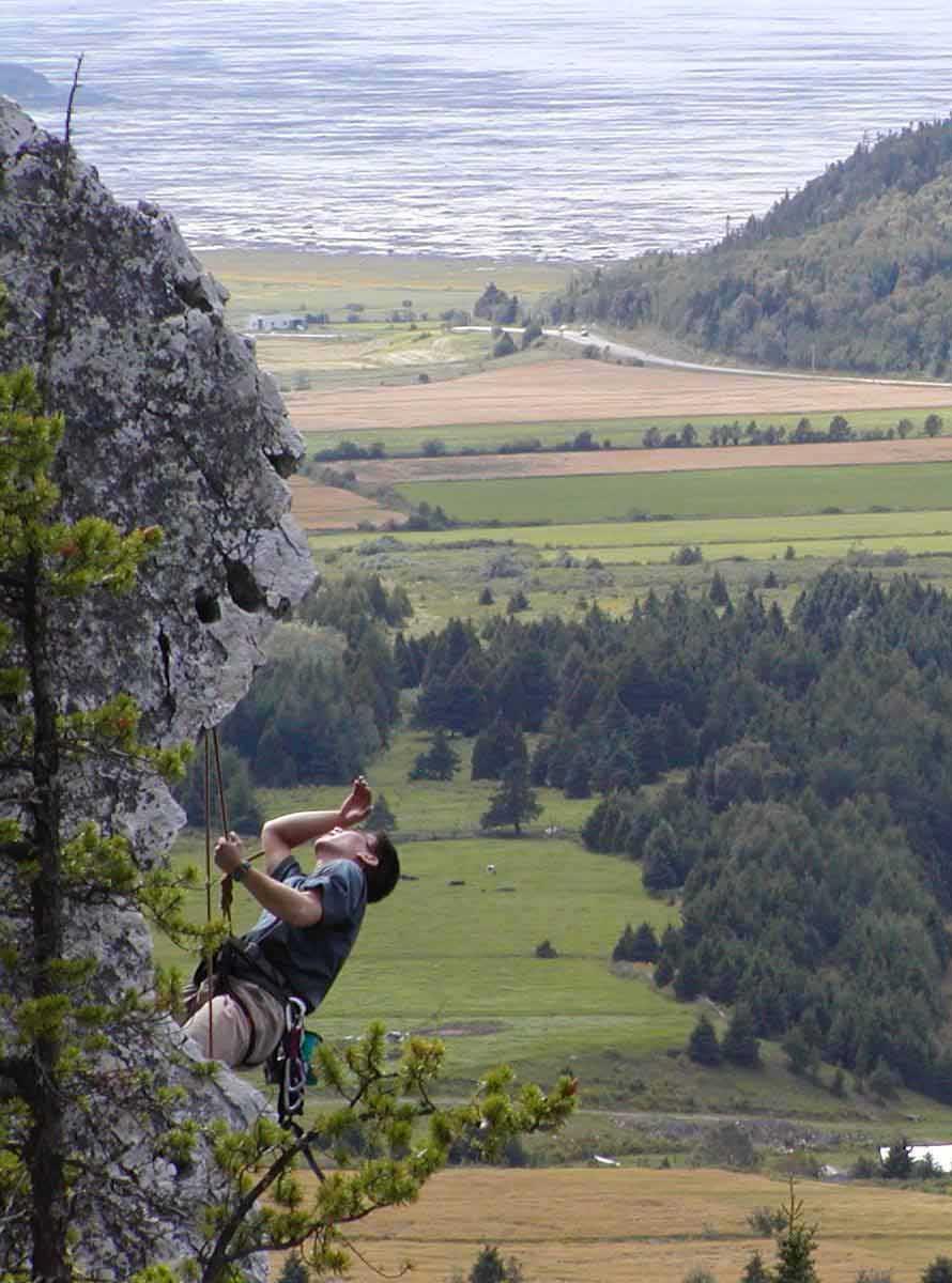 Activité d'escalade à Saint-André