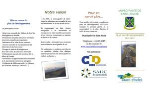 Plan de développement 2012-2017