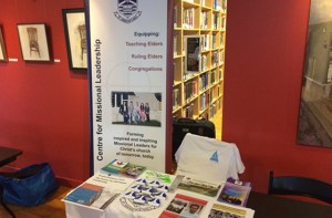 CML Resource Table at The Seattle School of Theology and Psychology Conference