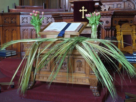 Palm Sunday at St. Andrew's