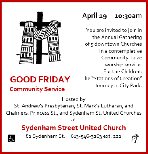 Good Friday Community Service -