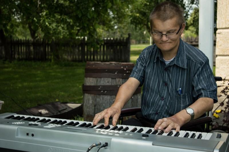 Scott on the Keyboard