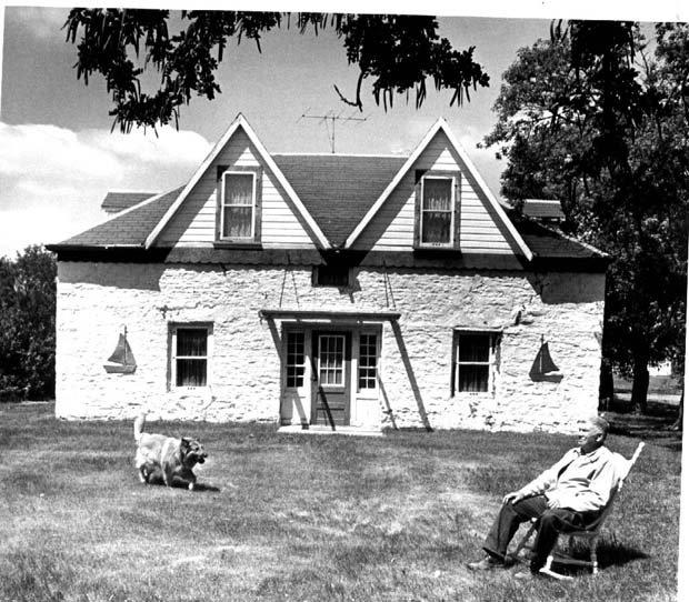 Scott House in St. Andrews built circa 1855.