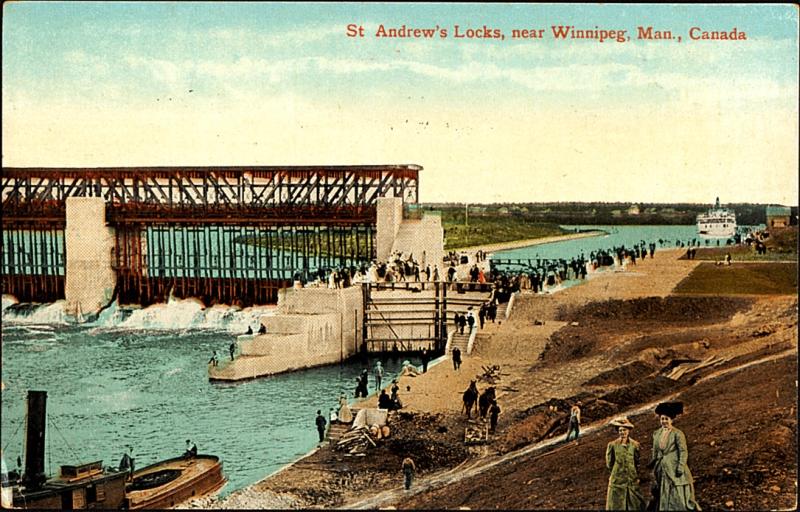 St. Andrew's Locks, 1910