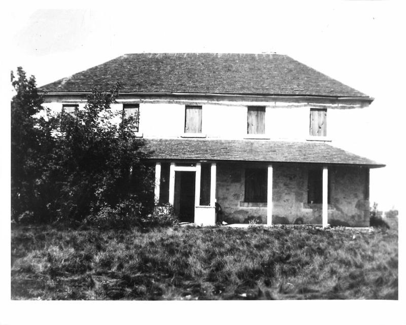 St. Andrews Rectory circa 1900.