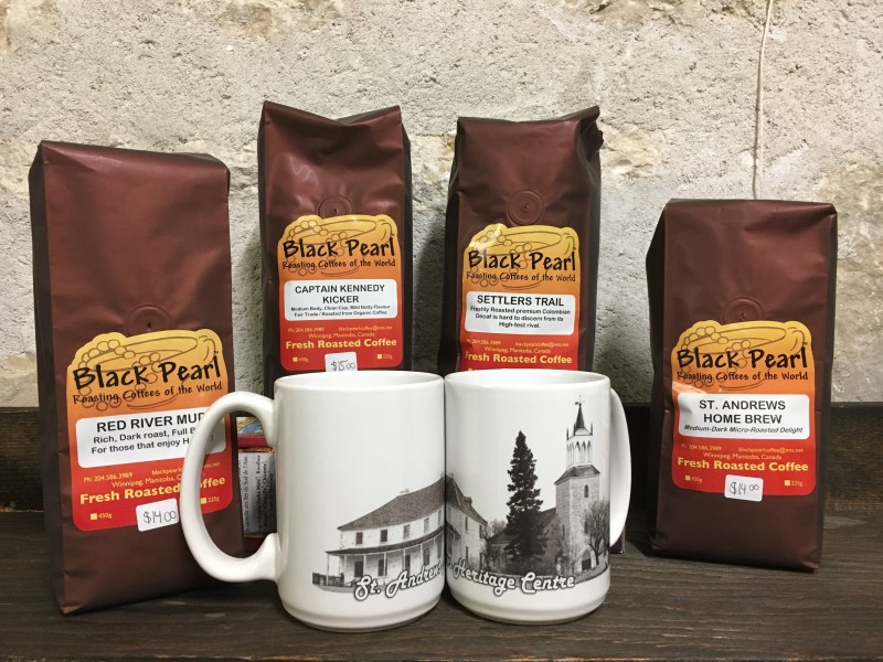 The Heritage Centre has their own blend of coffee