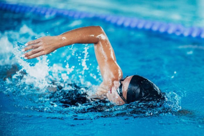 Active rest swimming