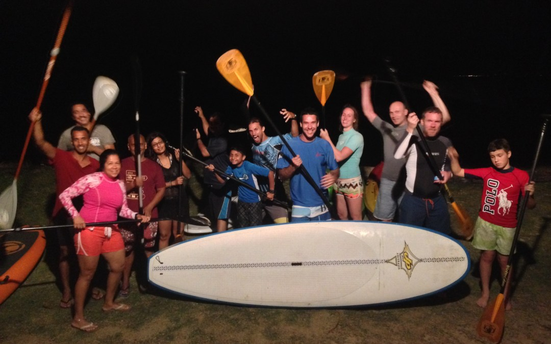 Stand Up Paddle Tobago – Bioluminescence Tour
