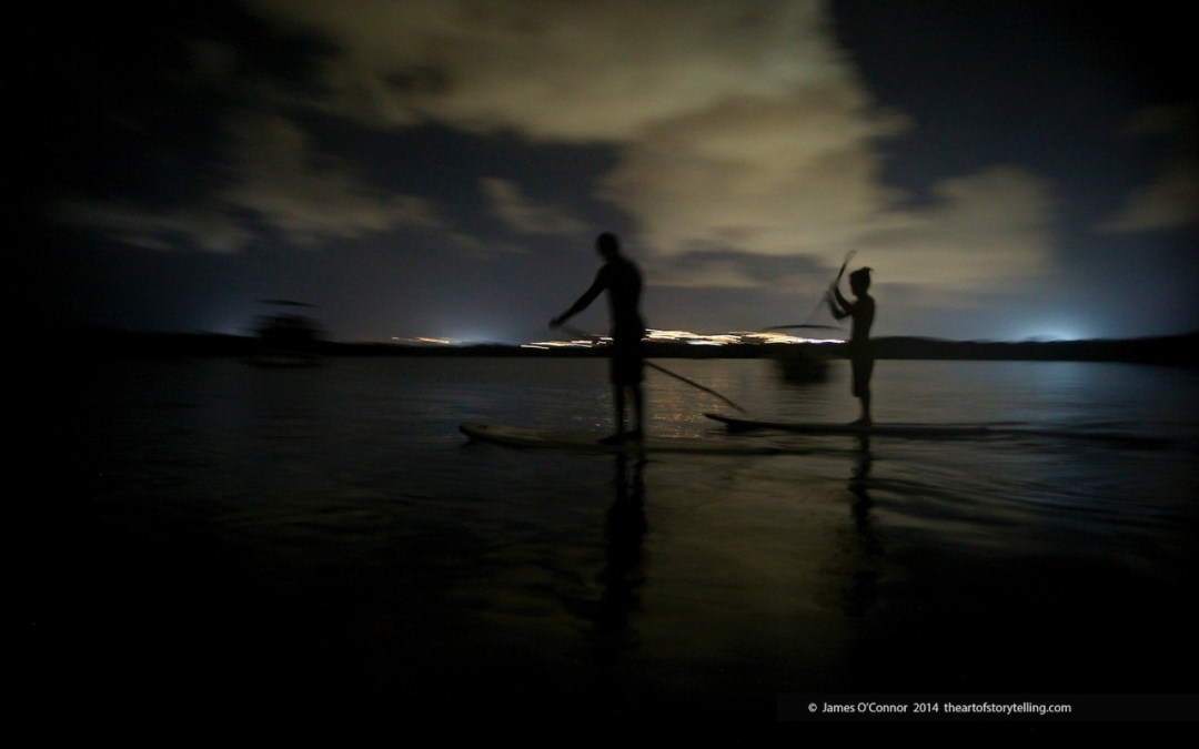 Tobago By Night Paddle Boarding with Bioluminescence – Article in the Independent.