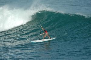 Surfing the outer reef