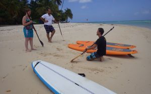 Beginner Stand Up Paddle Lesson