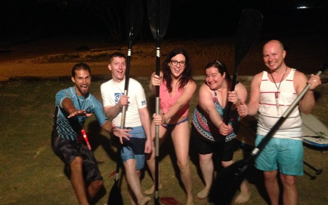 Bioluminescence fun in Tobago!