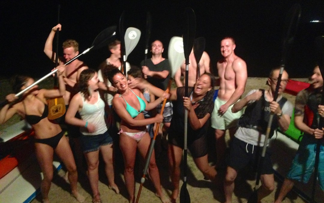 Pre Wedding Festivities with Stand Up Paddle Tobago