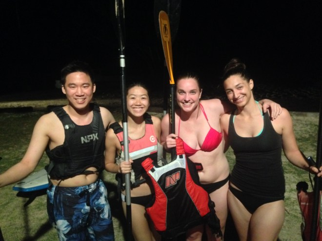 Fun on Stand Up Paddle