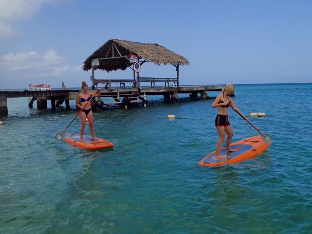 Stand Up Paddle Surf Turn