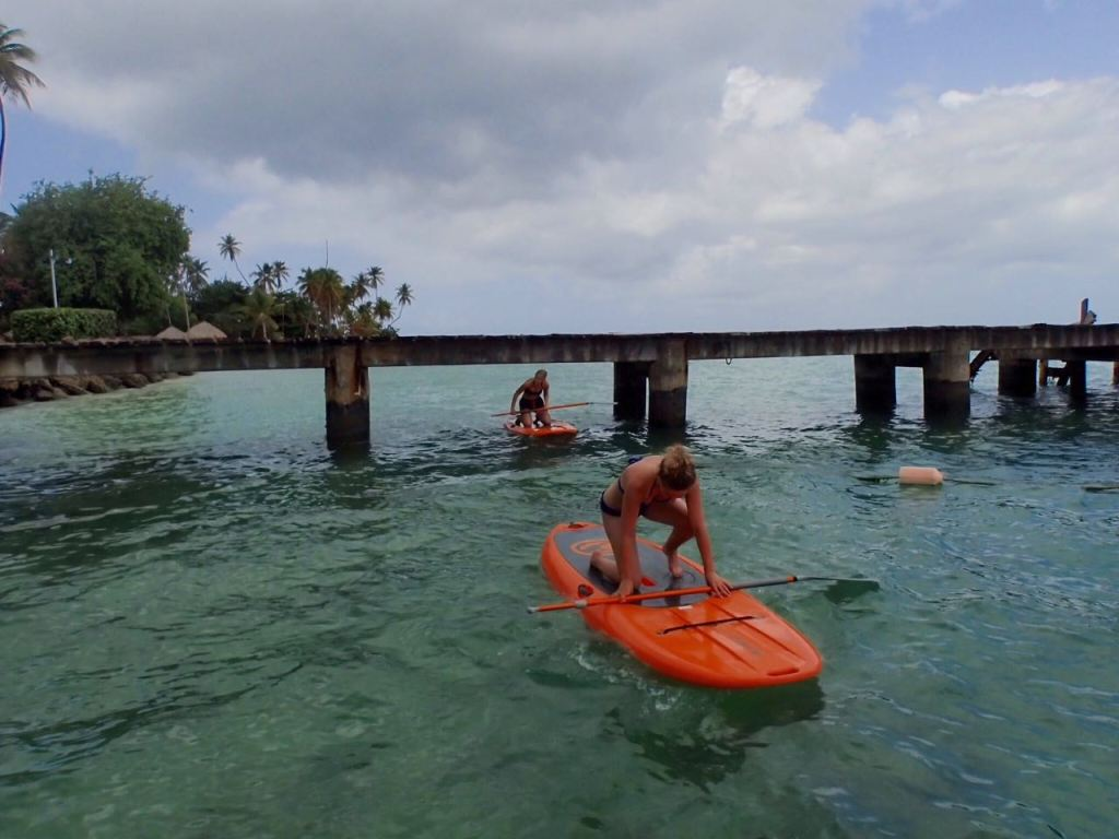 Getting under the jetty