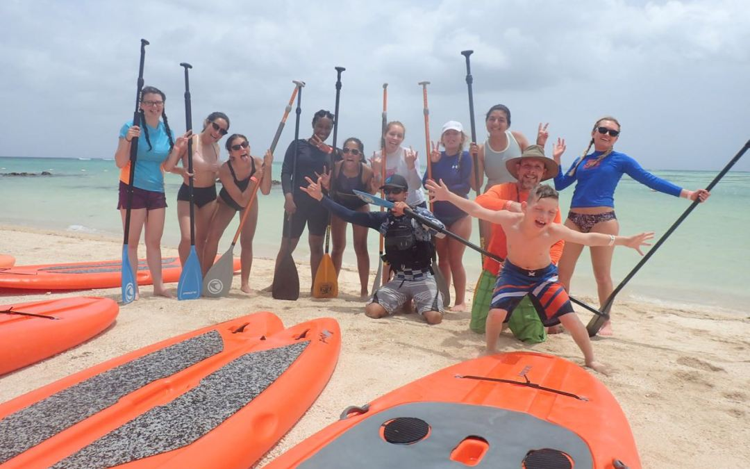 High School Stand Up Paddle Fun!