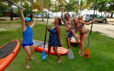 Stand Up Paddle High Jinks Tobago