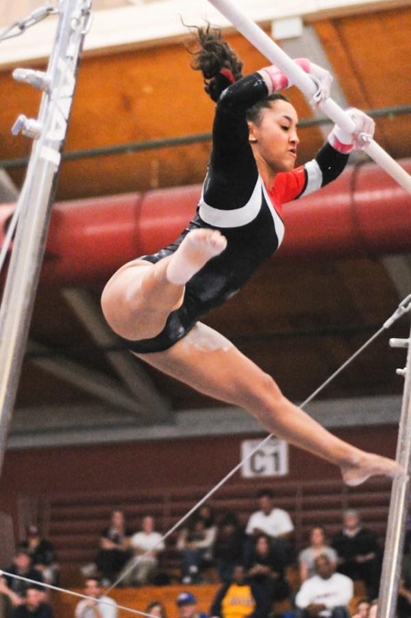 Women's gymnastics drops home opener to No. 4 UCLA – The ...