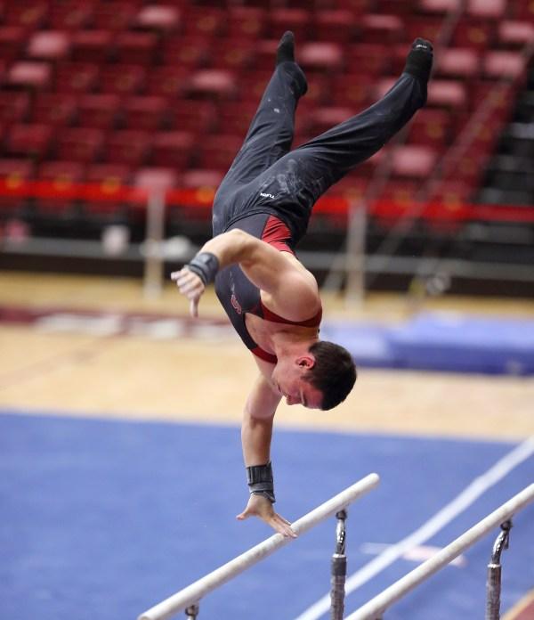 Men's gymnastics places second in international friendly ...