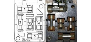 1965 and 1966 Ford Mustang fuse box guide  Classic