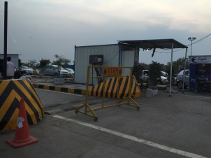 Tollbooth in Hyderabad highways