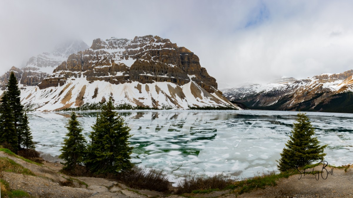 Icefields Parkway in Early June 2