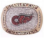 2008 Detroit Red Wings Stanley Cup ring