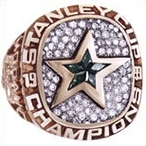 Dallas Stars 1999 Stanley Cup Ring